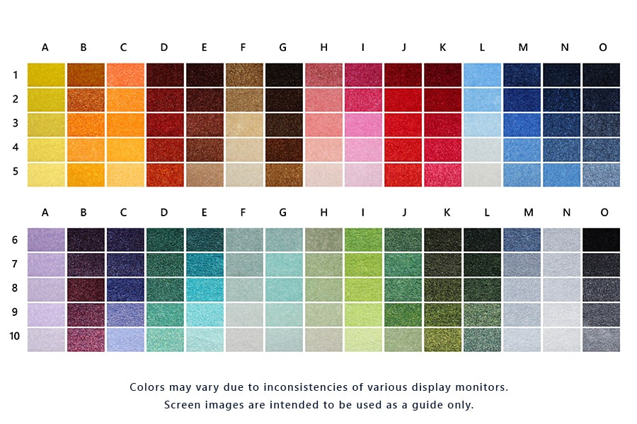 Classic Impressions HD Color Swatch Website